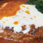 トマトパスタ鍋の残りをリメイク!スキレットで作る「煮込みハンバーグとマカロニグラタン」。そして「キヨエの完熟黒オリーブ」でご飯を炊いてみた!