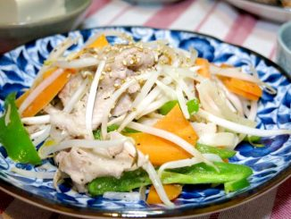 晩ご飯 野菜炒め