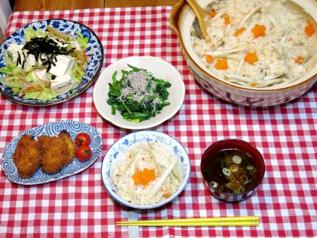 donabe-takikomi-gohan-dinner