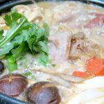 「水炊き」の残りをリメイク!酒粕を入れた豚汁風「味噌鍋」~〆は、やっぱりラーメンが旨い!