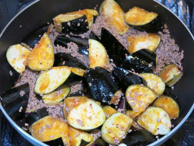 茄子 麻婆鍋