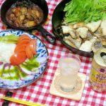 スキレットで作る「天然鯛のオイル焼き」と「牡蠣の味噌焼き」と「タコのカルパッチョ」