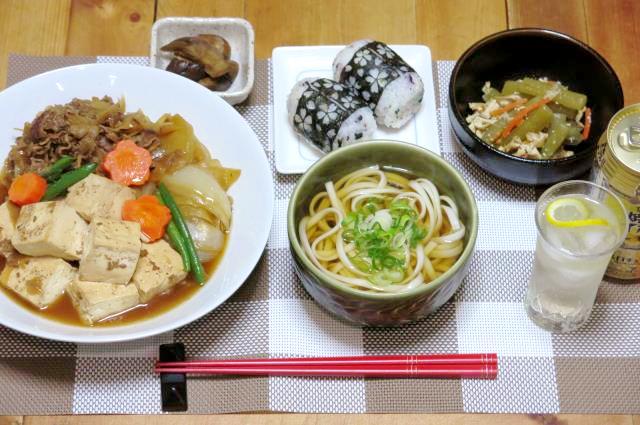 晩ご飯 肉豆腐