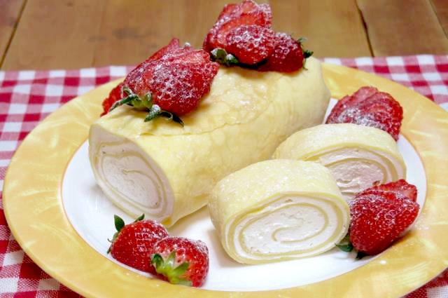 クレープロールケーキ