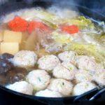 とっておきの旨鍋!ダッチオーブンで作る「生姜たっぷり!豚だんご鍋」
