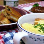 ココナッツオイルで手軽にアジアンテイスト!「パリパリ春巻き」と「オニオングラタンスープ」
