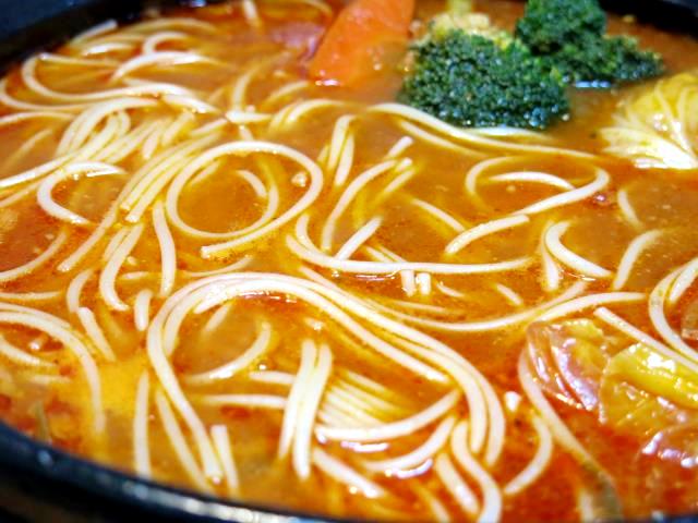 トマトパスタ鍋