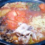 水炊きの残りをリメイク!あっさりさっぱり「トマトラーメン鍋」